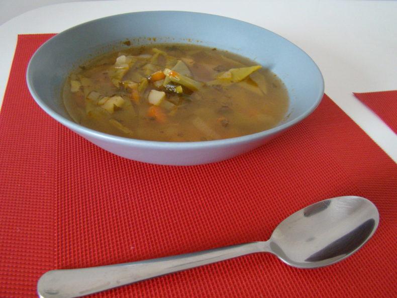 green beans soup
