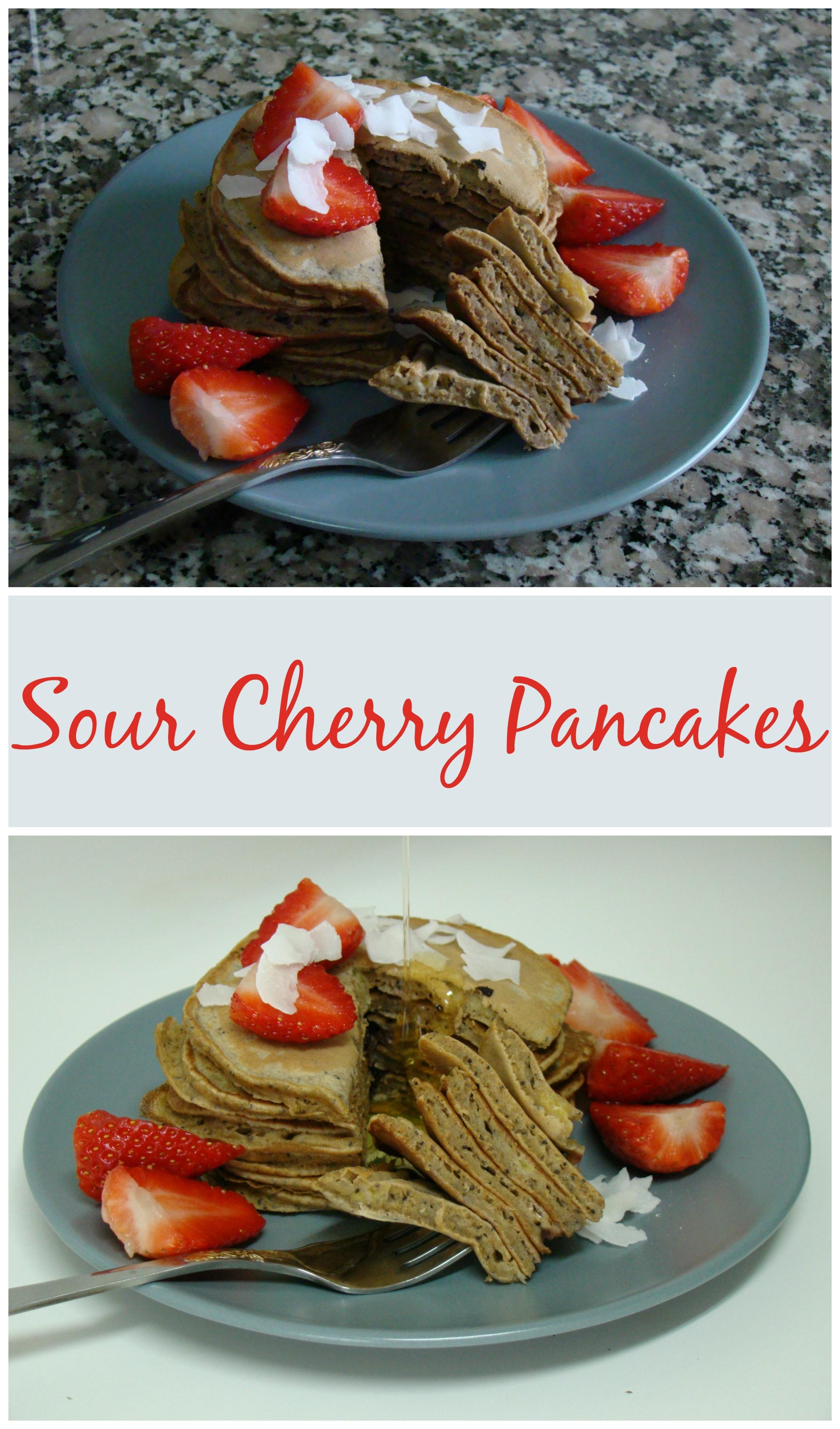 Sour Cherry Pancakes
