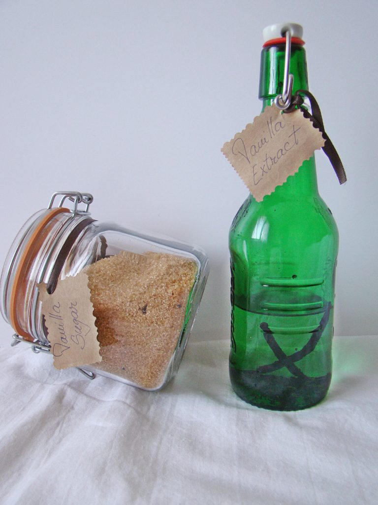 How To: Homemade Vanilla Sugar and Extract