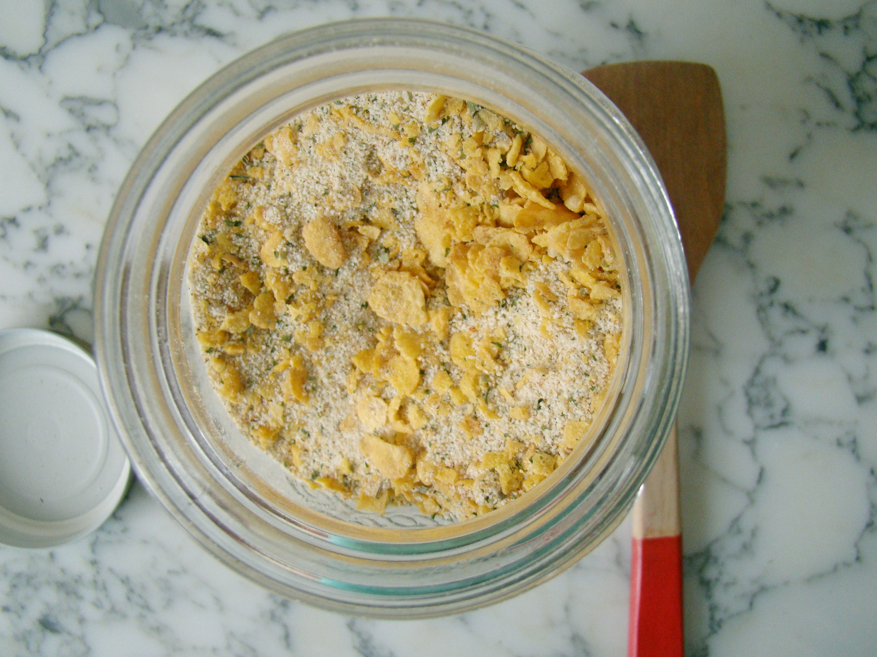 Corn Flakes Mixture for Fried or Baked Chicken