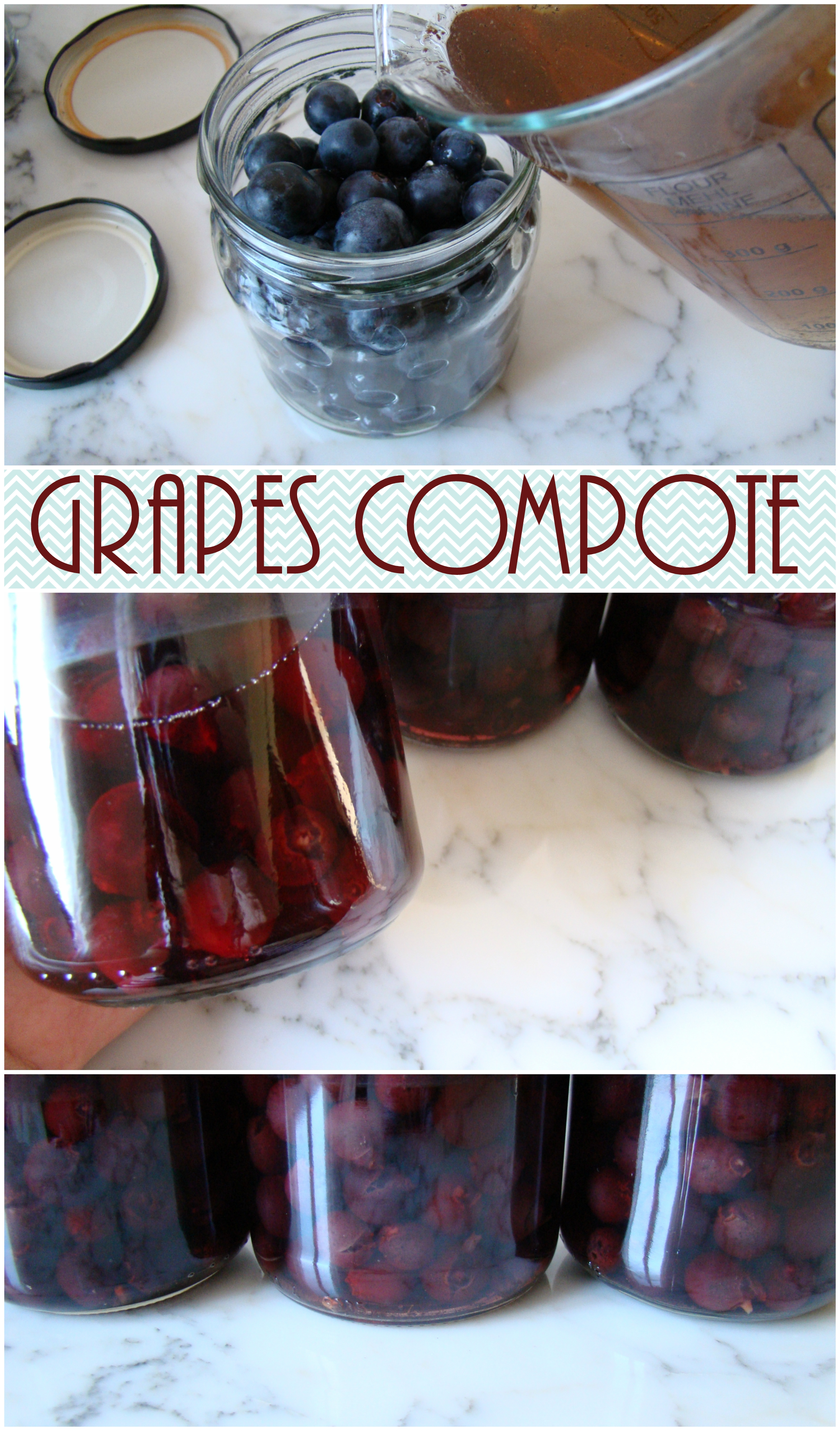 grapes-compote