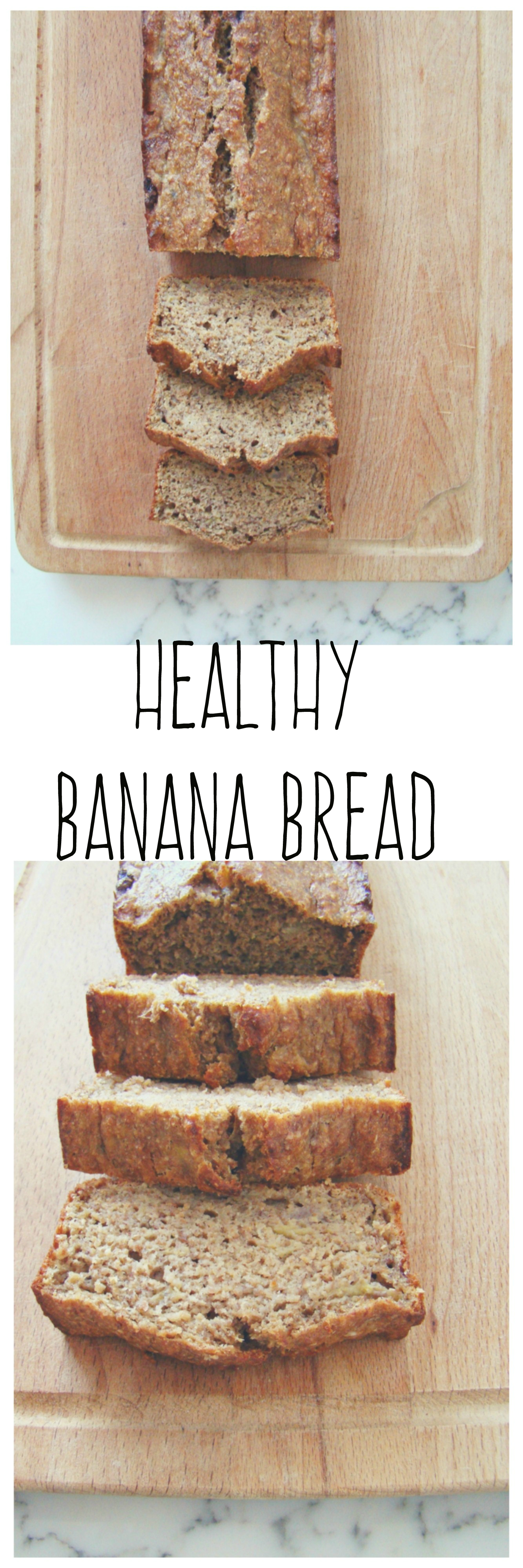 Healthy Banana Bread | booksandlavender.com