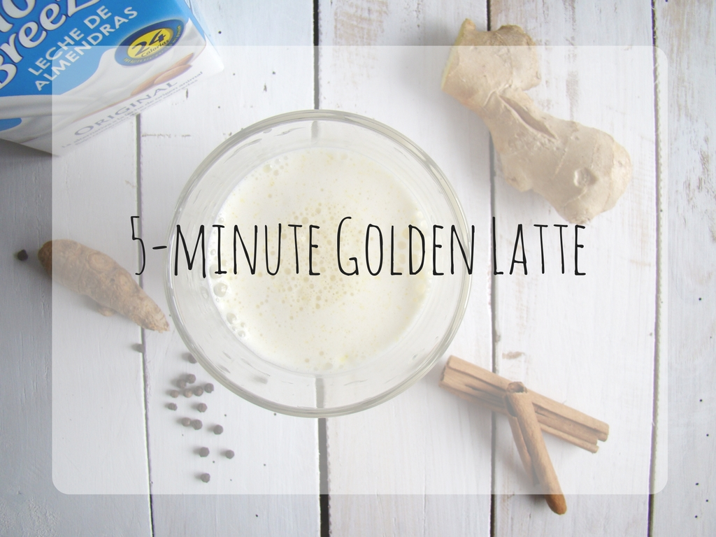 5-minute Golden Latte