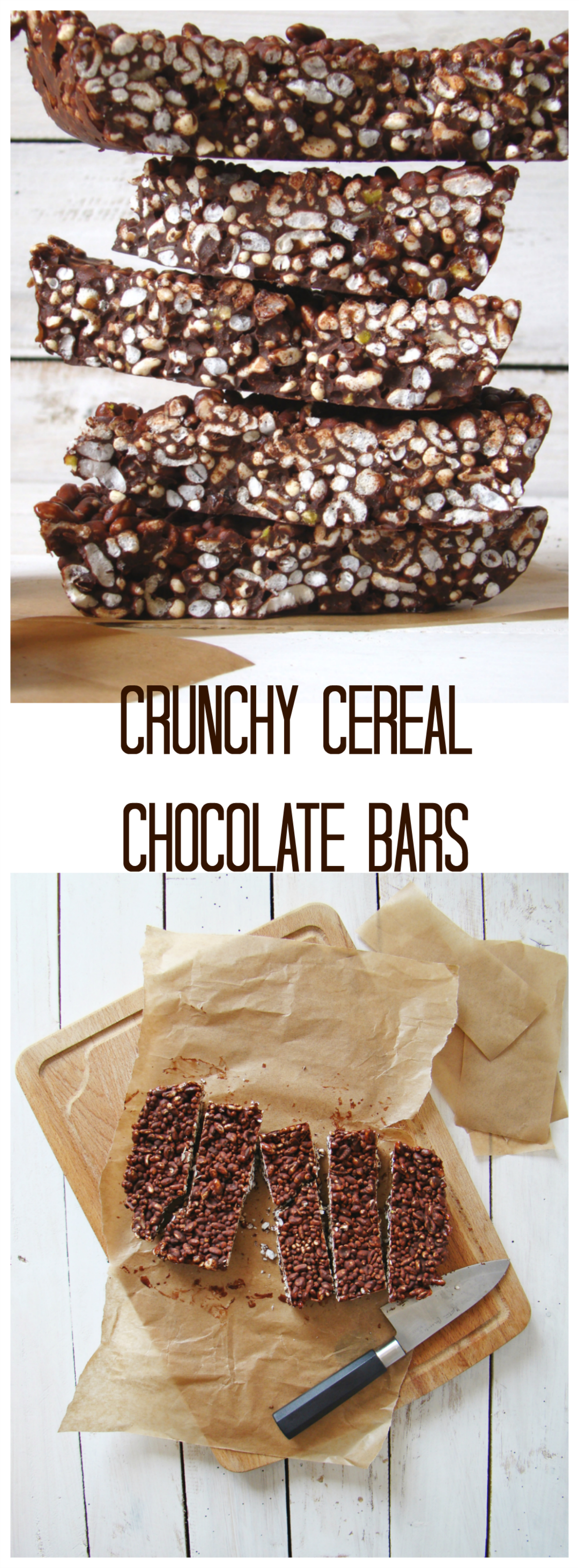 Crunchy Cereal Chocolate Bars