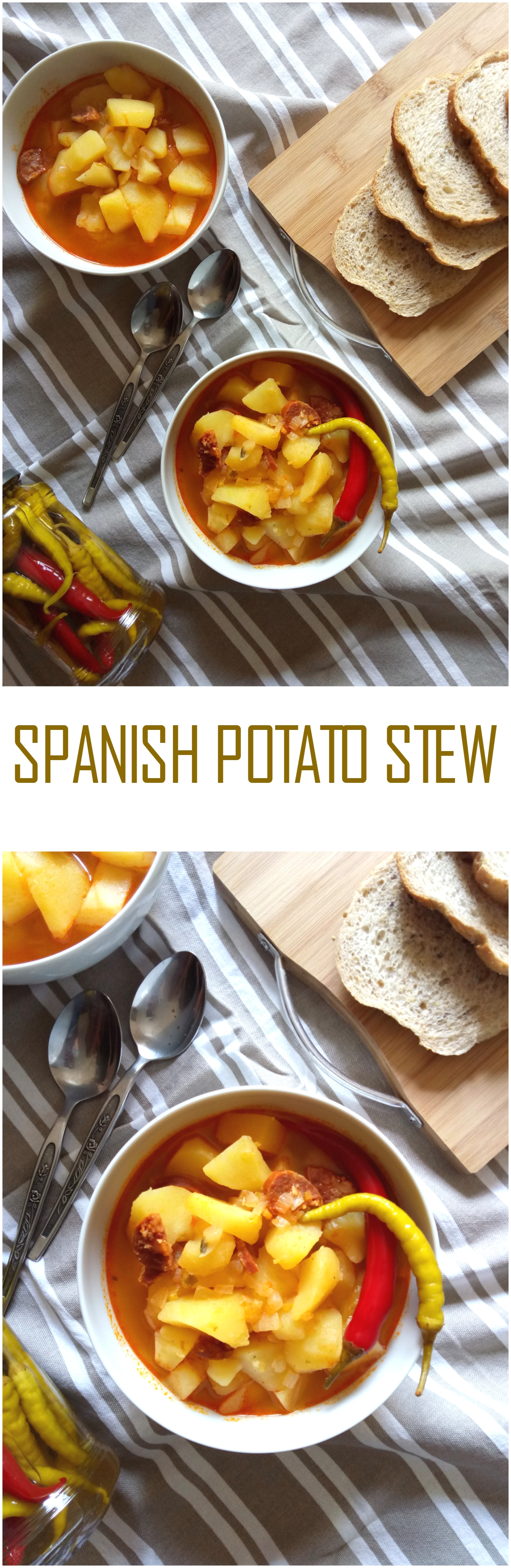 Spanish Potato Stew (Patatas a la Riojana)