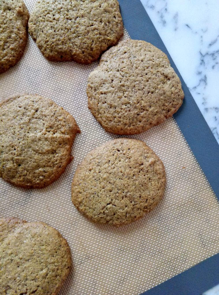 Spiced Cardamom Ginger Cookies