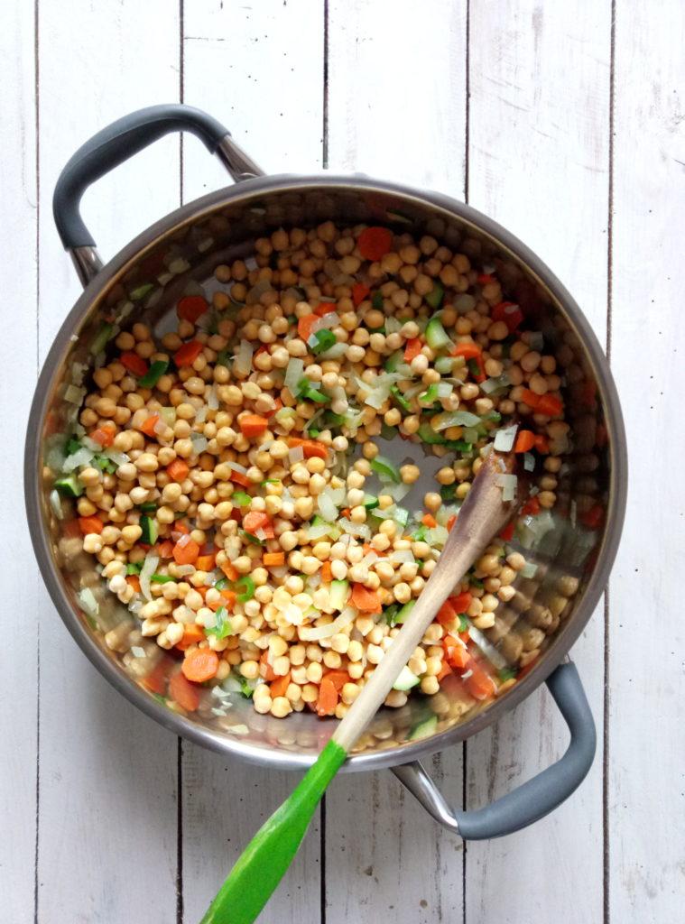 Vegan Chickpea and Swiss Chard Stew
